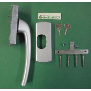180 Links weiß abschließbar 150 Hautau LM-Griff Z//E 201 AG-S für HKS 130